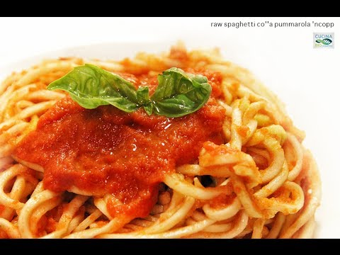 spaghetti-co'a-pummarola-'ncopp---ricetta-raw-start---facile-e-veloce