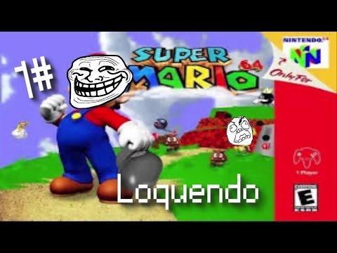 SUPER GORDO 64 it's COMING...   Super mario 64 1#   loquendo