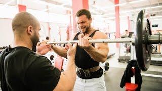 Александр Кодзоев и Герман Юханов - тренировка рук
