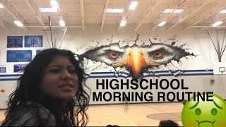 HIGHSCHOOL MORNING ROUTINE