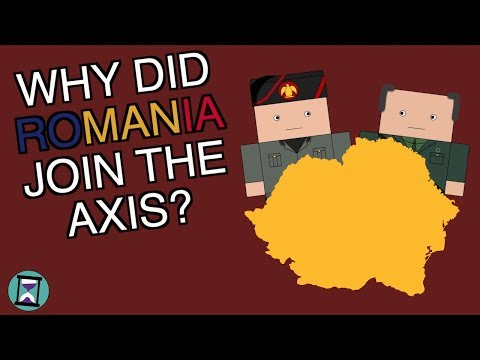 Why did Romania join the axis? (Short Animated Documentary)