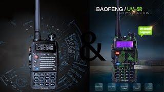 Обзор раций Baofeng UV 5R 5W и Tekoo TK UV2 8W
