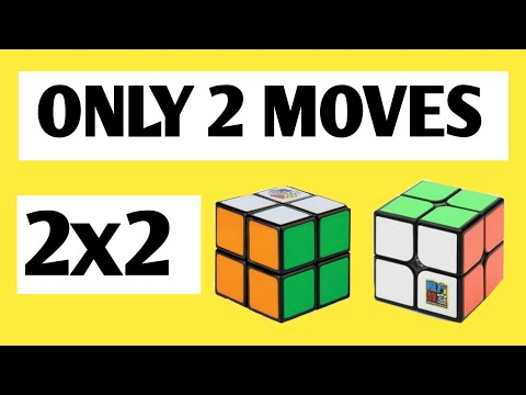 How to Solve 2x2 Rubik's cube with 2 moves - (FINALLY EXPOSED)
