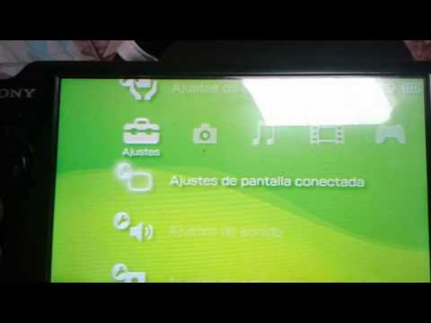 Como ver la psp en tu tv normal ose antigua