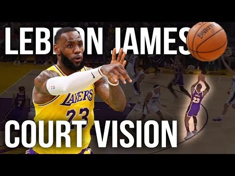 LeBron James Court Vision