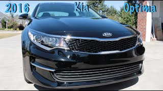 2016 Kia Optima LX First Impressions/Walkthrough