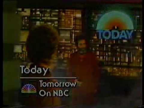 NBC Wednesday night & Today promo November 1979