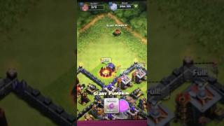 Coc scary pumpkin october 25 2016 clash of clans