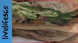 How to...Make a Killer Vegetarian Sub Sandwich