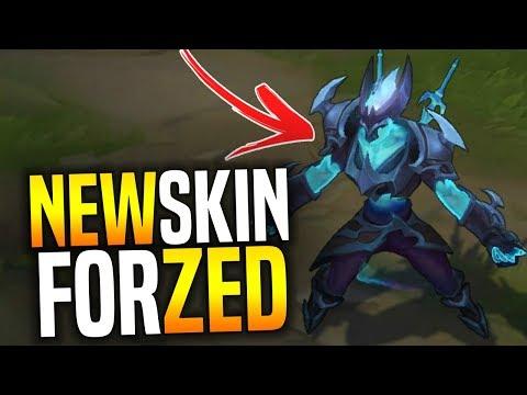 BEST ZED KOREA Plays With The NEW ZED SKIN! ( Death Sworn Zed Skin )   Be Challenger