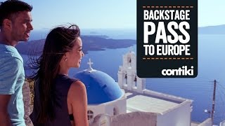 Choose to see Europe with #NOREGRETS. Choose a Backstage Pass.