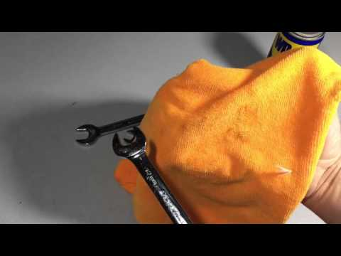 How To Keep Your Wrenches Clean and Rust Free