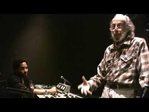in the studio welcoming legend Herman Leonard