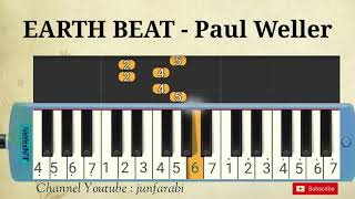 Paul Weller - EARTH BEAT - instrumental pianica