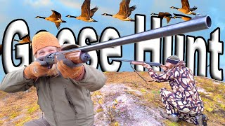 Hunting Canadian Goose In Canada / Day 9 Of 8 Wilderness Living Challenge  S04E10 Survival Challenge