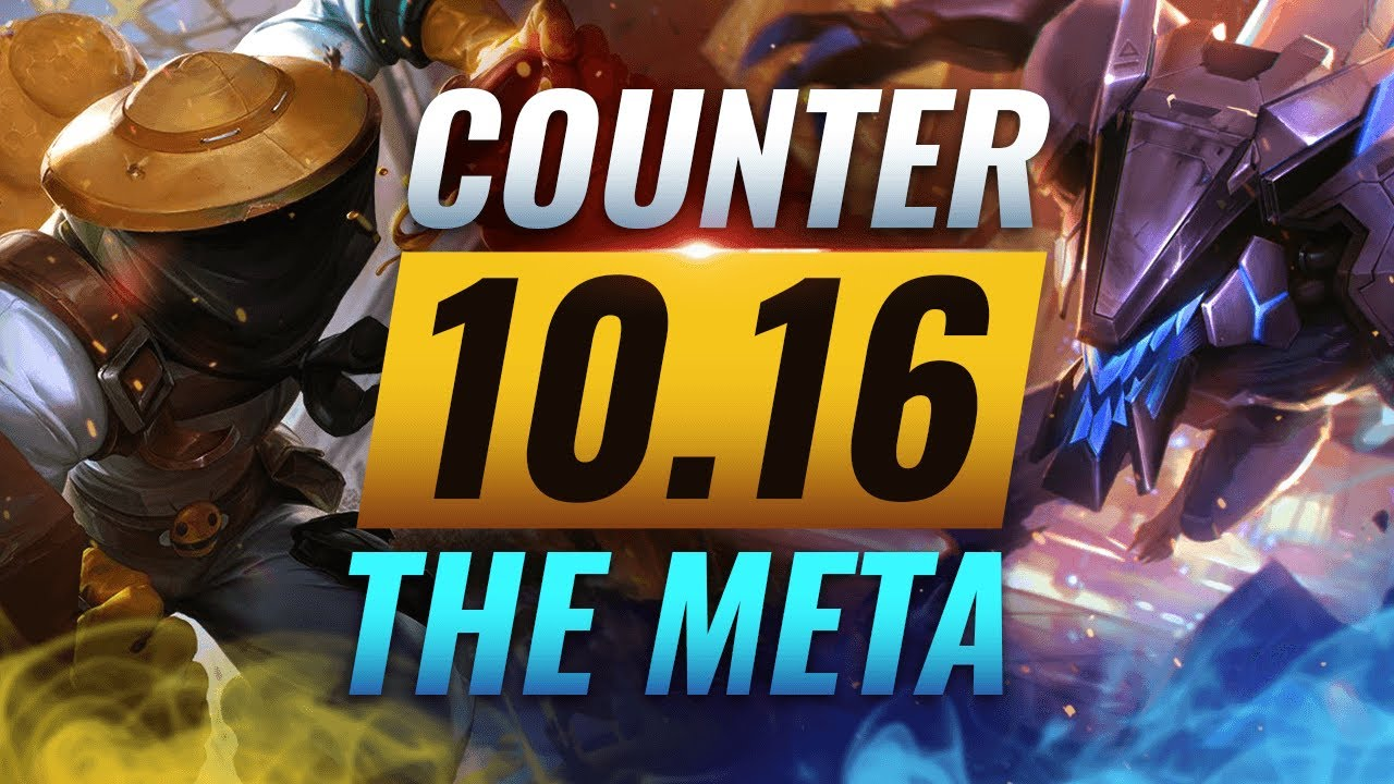 COUNTER THE META: How To DESTROY OP Champs for EVERY Role - League of Legends Patch 10.16