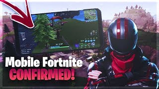 COMMENT À DOWNLOAD FORTNITE ON YOUR PHONE/TABLET (Mobile Fortnite Battle Royale)