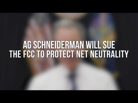AG Schneiderman: I Will Sue To Protect Net Neutrality