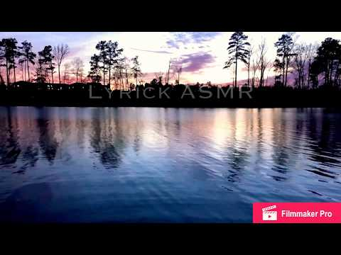 [ASMR] Sunset at the lake (nature sounds)