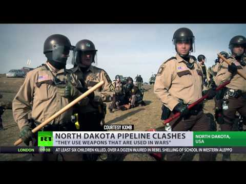 North Dakota soldiers disperse pipeline protest, at least 117 arrested