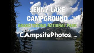 Jenny Lake Campground, Grand Teton National Park, Wyoming