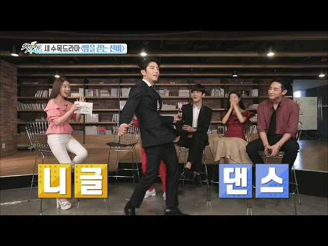 【TVPP】Lee Joon-Gi  -Comic Dance, 이준기 - 흥선비, 촬영장에서 매일 추는 니글 댄스 @Section TV