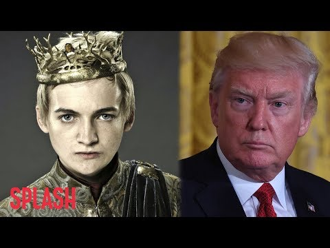 George R.R. Martin Compares Donald Trump to Joffrey  | Splash News TV