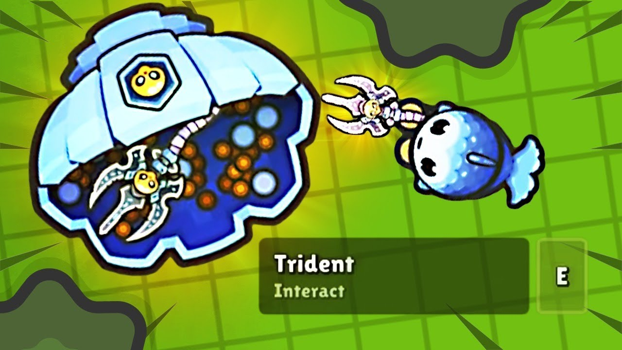 NEW TRIDENT STAFF in ZOMBSROYALE IO!
