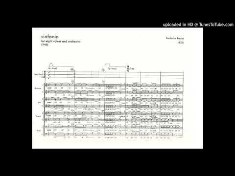 Luciano Berio - Sinfonia Mvt Iii (london Voices, Bbc So-bychkov)