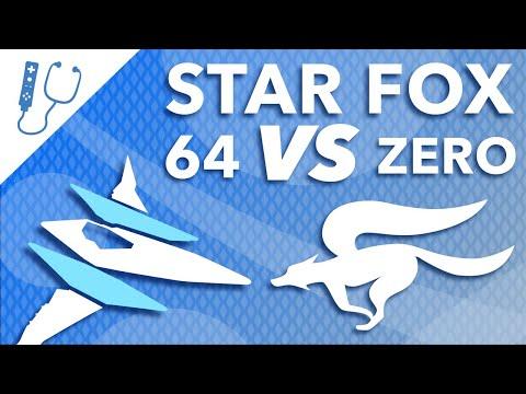 Star Fox 64 VS Star Fox Zero - A Difference in Structure ~ Design Doc