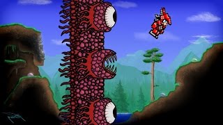 Terraria - WALL of FLESH // Easy Strategies for Infallible Victory PS4/Xbox One/PC