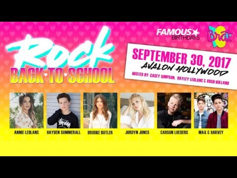 "Rock Your Hair ""Rock Back To School"" 