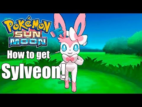 FASTEST! - How to Evolve Eevee into Sylveon in Pokémon S/M/US/UM