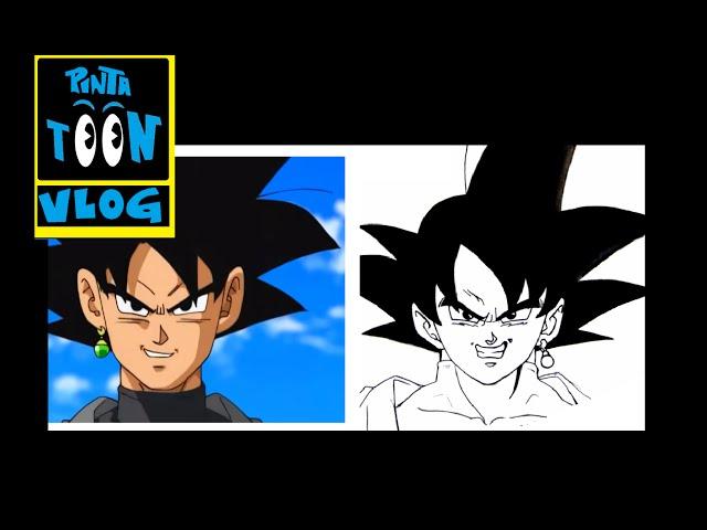 Como debería verse Black GOKU?