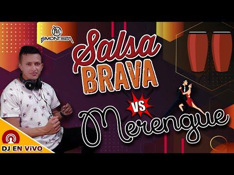 MIX SALSA BRAVA Vs MERENGUES CLASICOS ✅ (Exitos de Oro Bailables) DJ MONTEZA 🎧