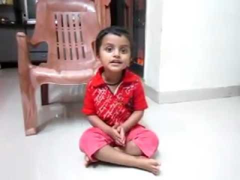 daivame sachidananda sung by 2 year old kid