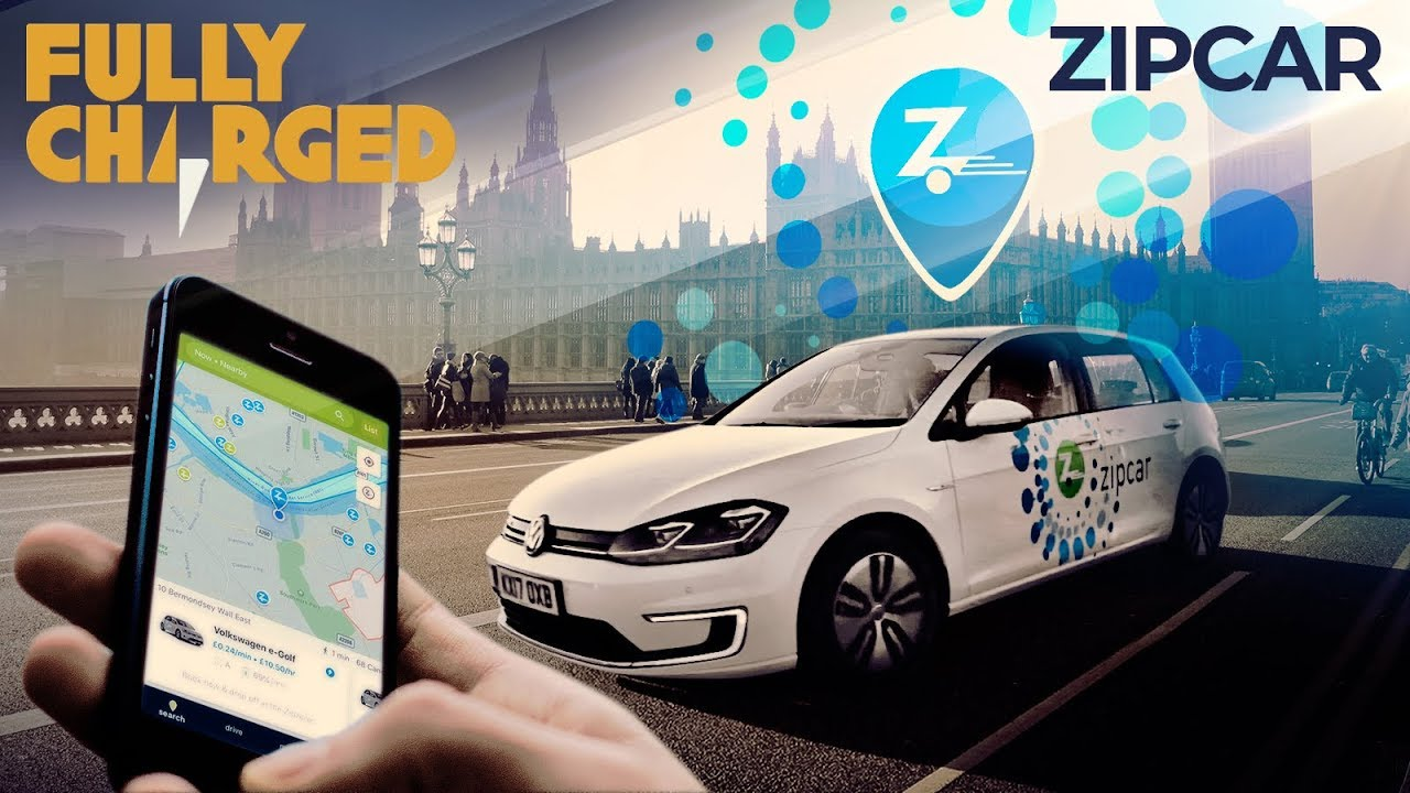 Zipcar- electric cars in London, | Fully Charged
