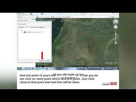 How to make KML File in Google earth