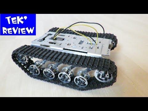 CHASSIS ROBOT CHENILLE BANGGOOD - CHASSIS METAL CRAWLER