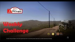 WRC 7- Rally Portugal- Amarante Stage- Weekly Challenge
