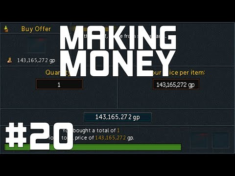 RuneScape 3: I Finally Got It... - Making Money #20
