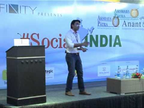 Social Media for Non profits and B2B - Narendra Nag