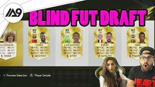 SHE SCREWED ME.. FIFA 16 - BLIND FUT DRAFT!!