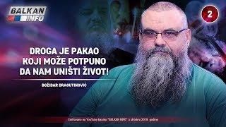 INTERVJU: Božidar Dragutinović - Droga je pakao koji može potpuno da nam uništi život! (1.10.2019)