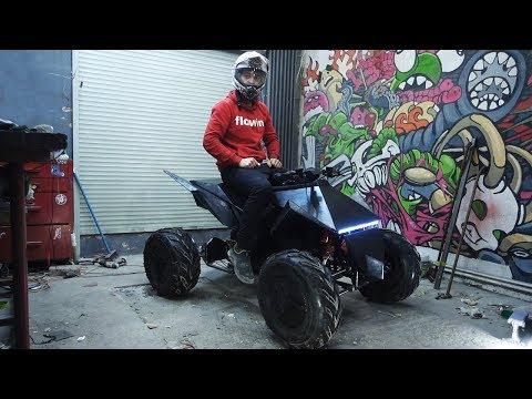 Tesla Квадроцикл своими руками.  Финал