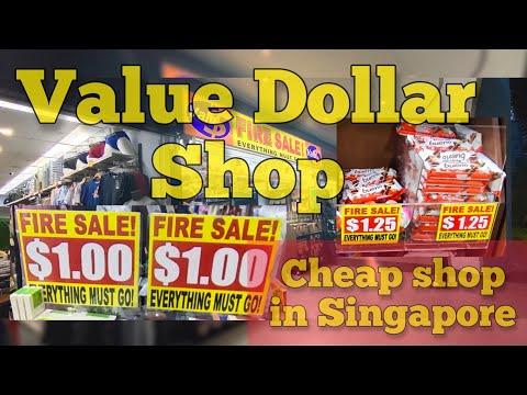 Travel in Singapore   Value Dollar   KEDAI MURAH DI SINGAPORE