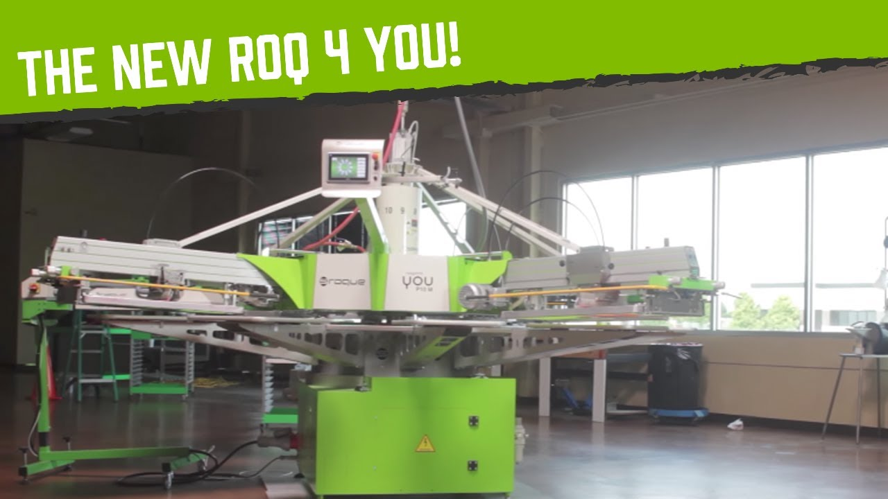 149e994c2 Introducing The ROQ 4 You: a Four Color Automatic Press - YouTube
