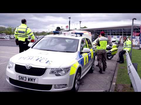 North Yorkshire Police project Servator film
