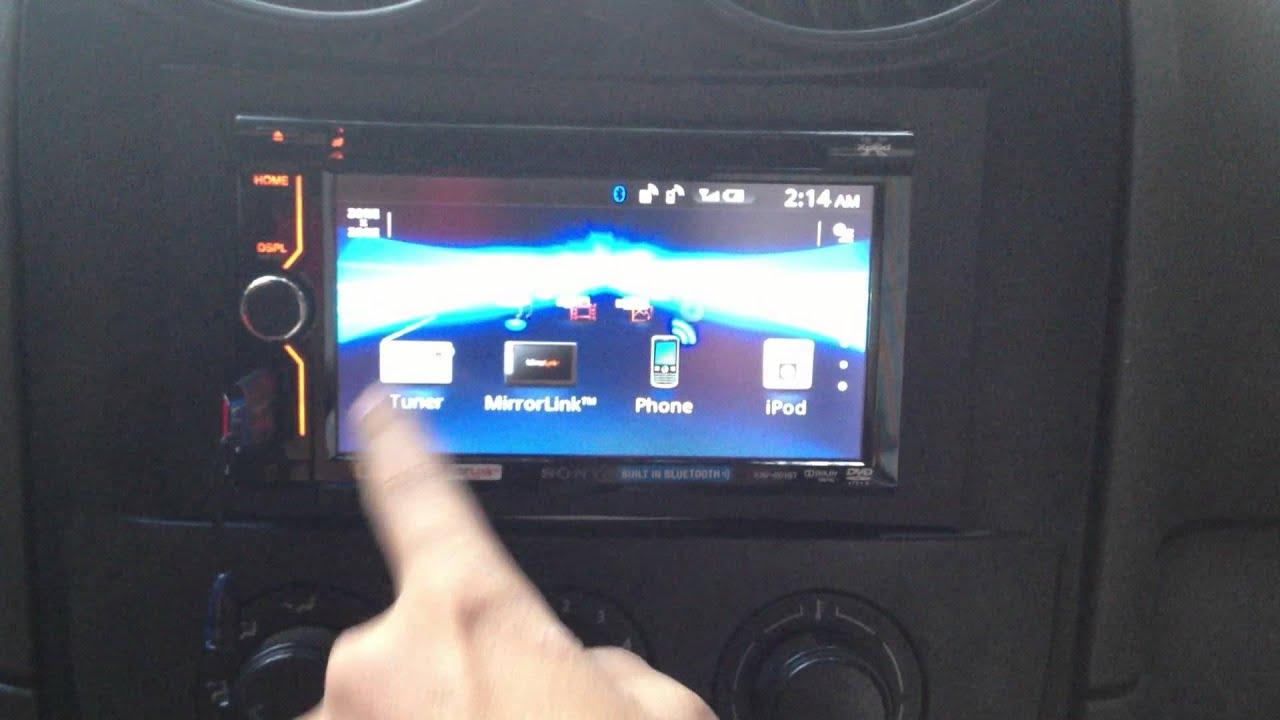 Sony XAV-612BT Software Update - YouTube