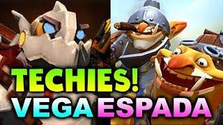 TECHIES HYPE! - VEGA vs ESPADA - TI8 CIS QUALS DOTA 2